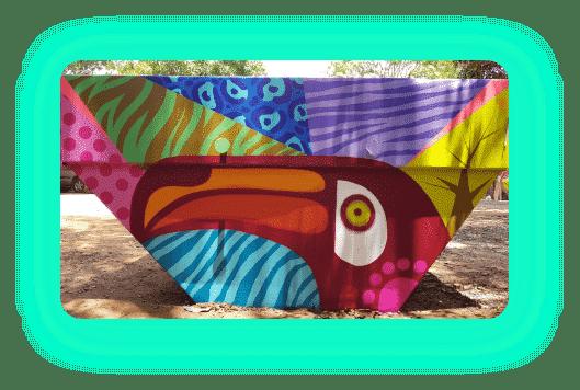 cacamba ou container artistico da cerrado entulho